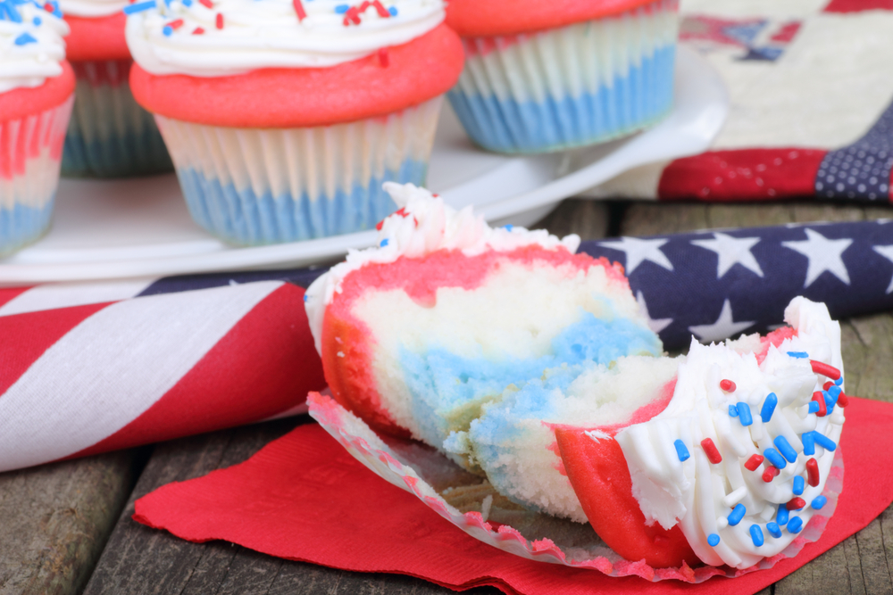 cupcake ideas for 4th of july