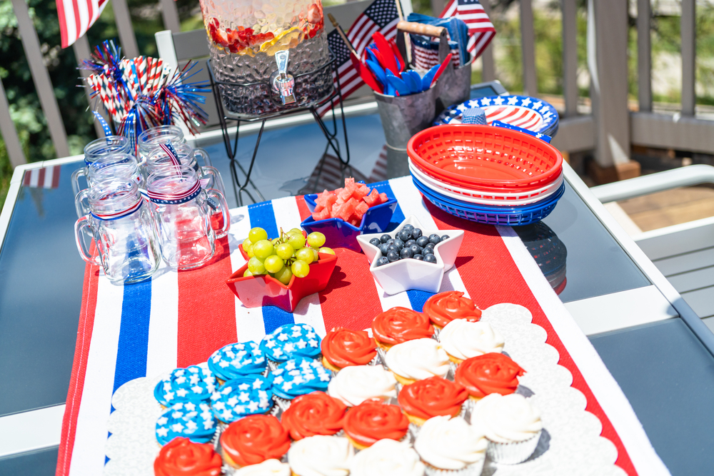 patriotic cupcakes for 4th of july